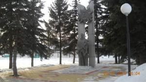 Памятник,посвященный ВОВ 1941-1945 г